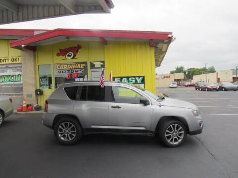 2017 Jeep Compass for sale at Cardinal Motors in Fairfield OH