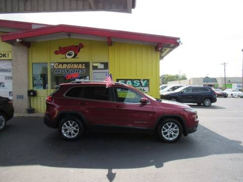 2017 Jeep Cherokee for sale at Cardinal Motors in Fairfield OH