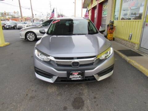 2016 Honda Civic for sale at Cardinal Motors in Fairfield OH