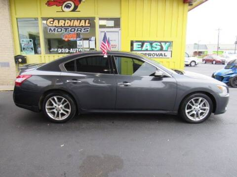 2011 Nissan Maxima for sale at Cardinal Motors in Fairfield OH