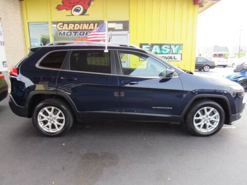 2015 Jeep Cherokee for sale at Cardinal Motors in Fairfield OH