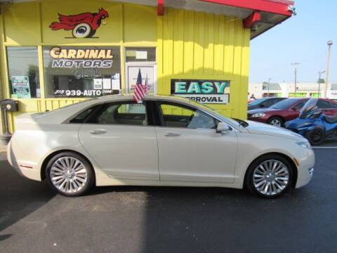 2015 Lincoln MKZ for sale at Cardinal Motors in Fairfield OH