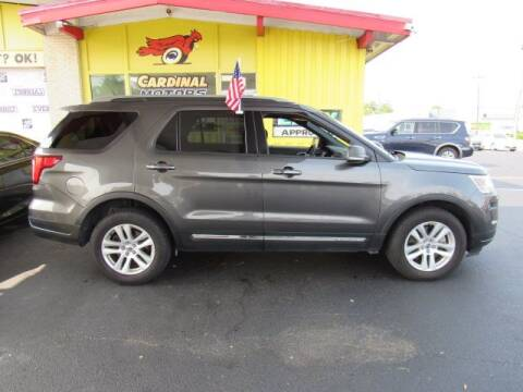 2019 Ford Explorer for sale at Cardinal Motors in Fairfield OH