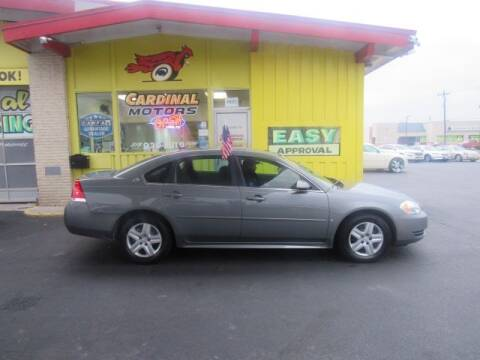 2009 Chevrolet Impala for sale at Cardinal Motors in Fairfield OH