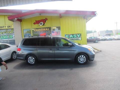 2010 Honda Odyssey for sale at Cardinal Motors in Fairfield OH