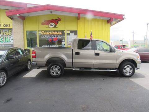 2005 Ford F-150 for sale at Cardinal Motors in Fairfield OH