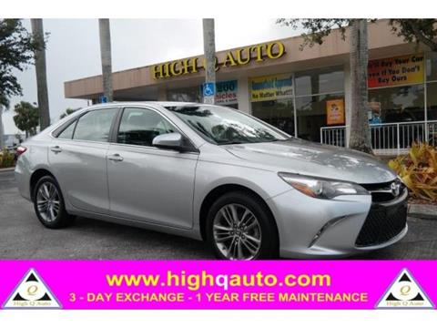 2015 Toyota Camry for sale in Plantation, FL