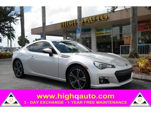 2013 Subaru BRZ for sale in Plantation, FL