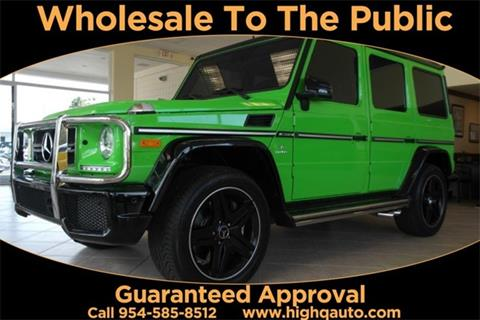 2016 Mercedes-Benz G-Class for sale in Plantation, FL