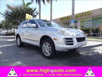 2009 Porsche Cayenne for sale in Plantation, FL