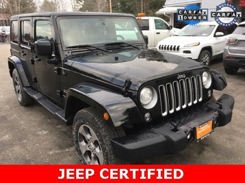 2018 Jeep Wrangler Unlimited for sale in Warrensburg, NY