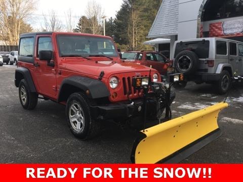 2011 Jeep Wrangler for sale in Warrensburg, NY