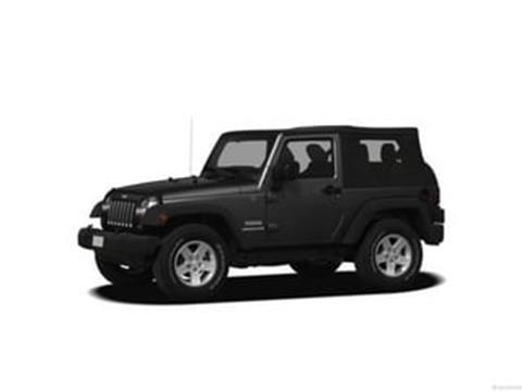 2012 Jeep Wrangler for sale in Warrensburg, NY
