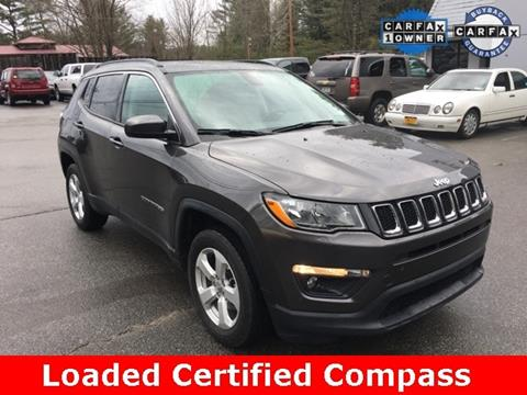 2018 Jeep Compass for sale in Warrensburg, NY