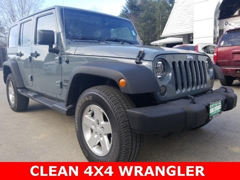 2014 Jeep Wrangler Unlimited for sale in Warrensburg, NY