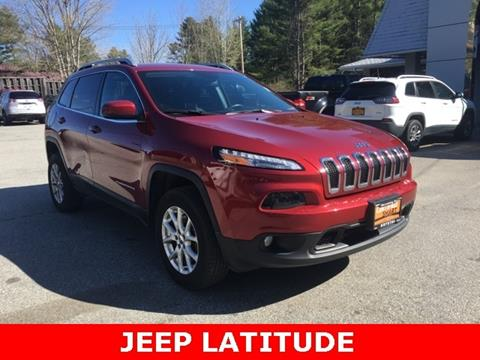 2016 Jeep Cherokee for sale in Warrensburg, NY