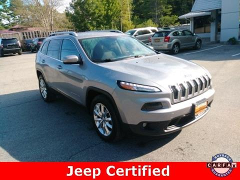 2015 Jeep Cherokee for sale in Warrensburg, NY