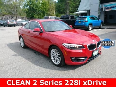 2016 BMW 2 Series for sale in Warrensburg, NY