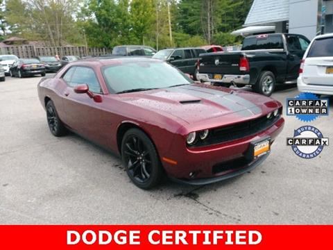 2017 Dodge Challenger for sale in Warrensburg, NY