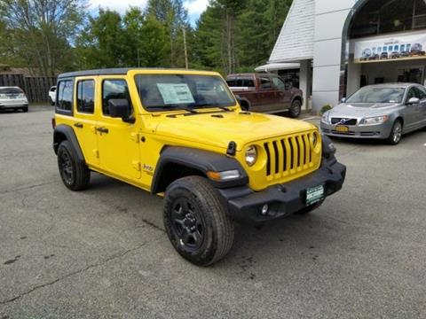 2020 Jeep Wrangler Unlimited for sale in Warrensburg, NY