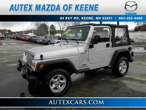2004 jeep wrangler for sale in new hampshire. Black Bedroom Furniture Sets. Home Design Ideas