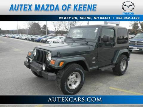 used 2003 jeep wrangler for sale in new hampshire. Black Bedroom Furniture Sets. Home Design Ideas