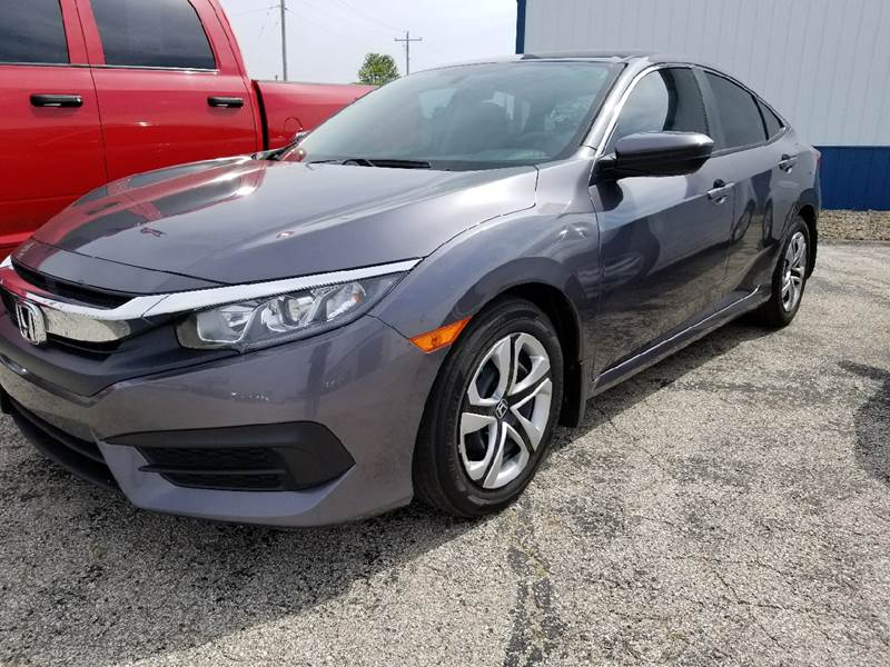 2016 Honda Civic LX 4dr Sedan CVT - Lexington IL