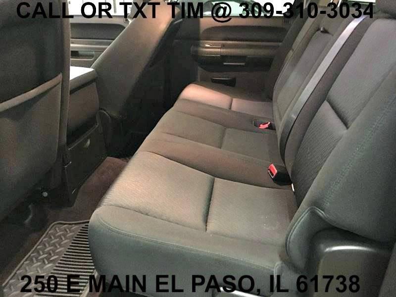 2012 Chevrolet Silverado 1500 4x4 LT 4dr Crew Cab 5.8 ft. SB - 250 E Main Street IL