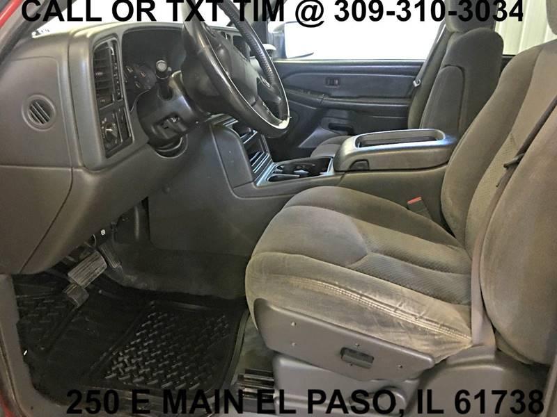 2005 Chevrolet Silverado 2500HD 4dr Extended Cab LT 4WD SB - 250 E Main Street IL