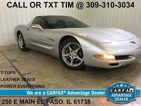 2004 Chevrolet Corvette for sale in 250 E Main Street, IL