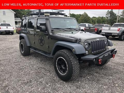 2015 Jeep Wrangler Unlimited Unlimited Sport In 250 E Main Street IL    Mounce Automotive