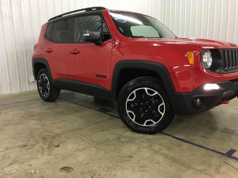 2016 Jeep Renegade 4x4 Trailhawk 4dr SUV - Lexington IL