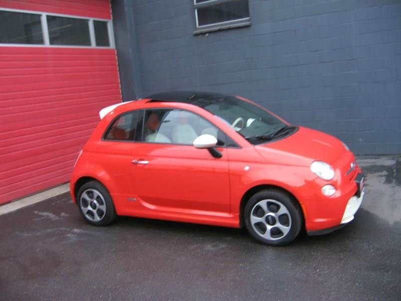 2014 Fiat 500e In Seattle Wa Paramount Motors Nw