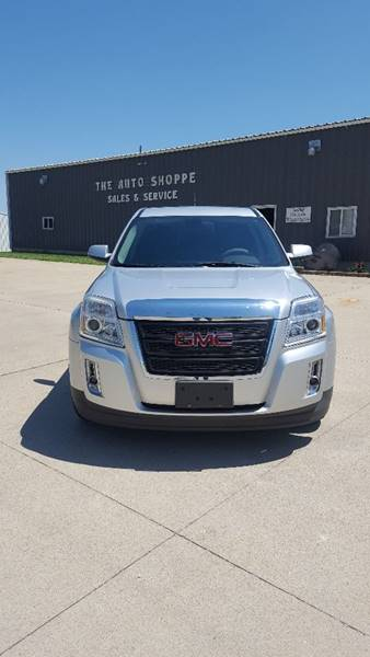 2011 GMC Terrain for sale at The Auto Shoppe Inc. in New Vienna IA