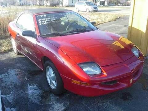 1998 Pontiac Sunfire for sale at LOREN'S AUTO SALES in Oshkosh WI