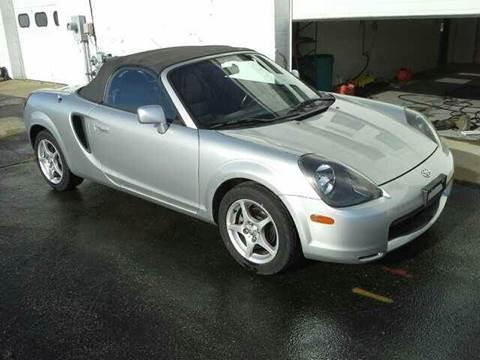 2001 Toyota MR2 Spyder for sale at LOREN'S AUTO SALES in Oshkosh WI