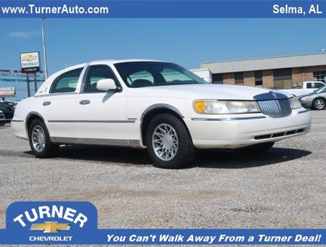 2000 Lincoln Town Car for sale in Clanton, AL