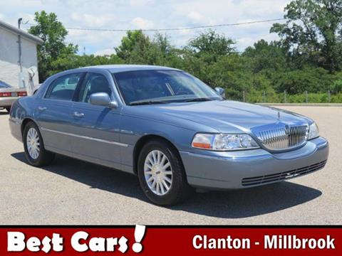 2003 Lincoln Town Car Signature 4dr Sedan In Clanton Al Best Cars Inc