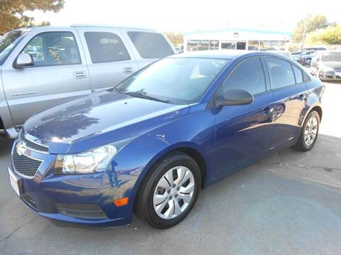 2013 Chevrolet Cruze for sale at Pioneer Auto in Ponca City OK