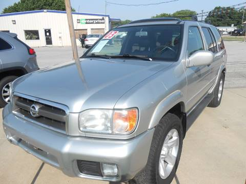 2003 Nissan Pathfinder for sale at Pioneer Auto in Ponca City OK