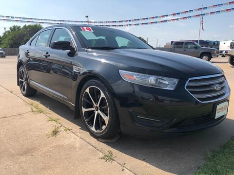 2014 Ford Taurus for sale at Pioneer Auto in Ponca City OK