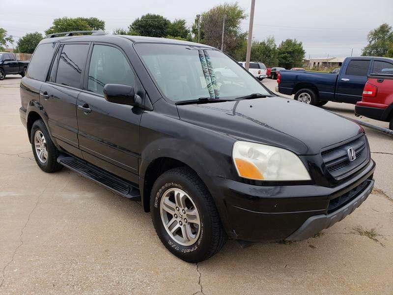 2003 Honda Pilot 4dr EX L 4WD SUV W/ Leather   Ponca City OK