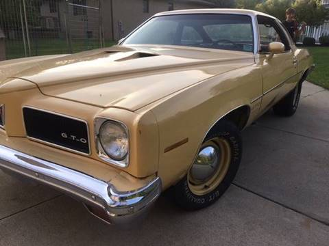 1973 Pontiac GTO for sale in Euclid, OH