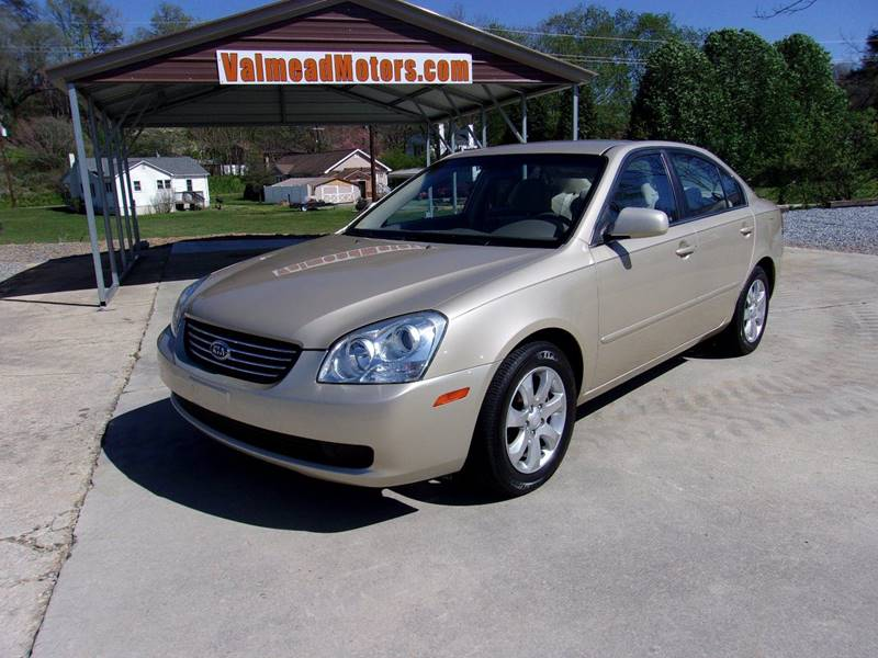 2008 Kia Optima For Sale At Valmead Motors Inc. In Lenoir NC
