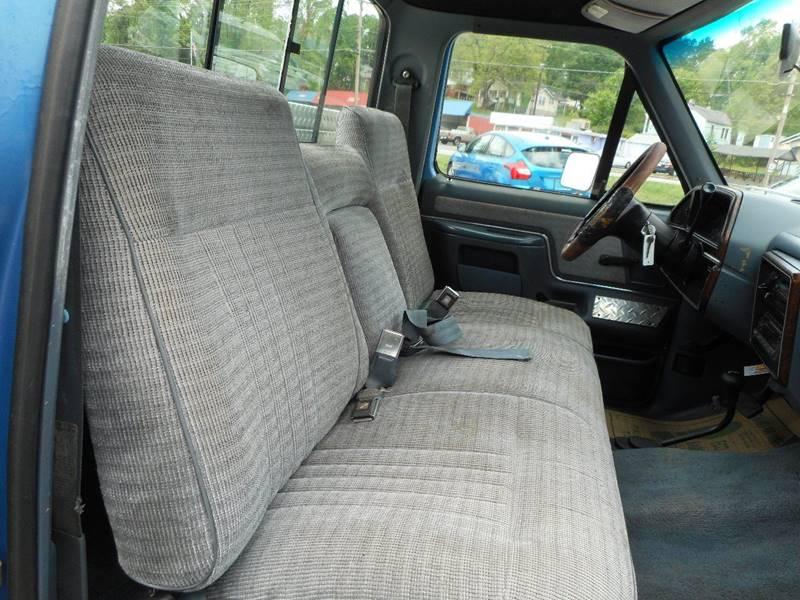 1990 Ford F-150 2dr XLT Lariat 4WD Standard Cab SB - Lenoir NC