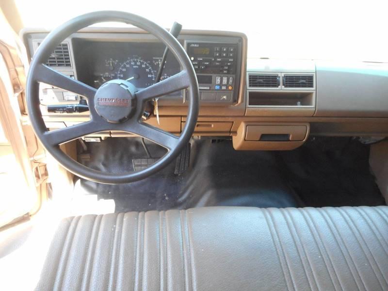 1994 Chevrolet C/K 1500 Series 2dr C1500 Cheyenne Standard Cab LB - Lenoir NC