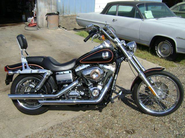2008 Harley-Davidson DYNA WIDE GLIDE for sale at Tom Boyd Motors in Texarkana TX