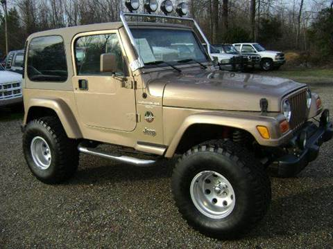 2000 Jeep Wrangler for sale at Tom Boyd Motors in Texarkana TX