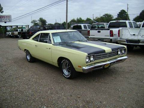 1969 Plymouth Roadrunner for sale at Tom Boyd Motors in Texarkana TX