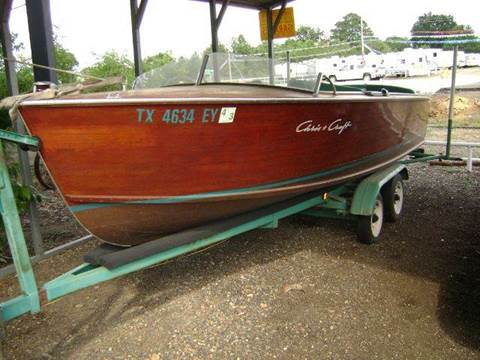 1956 CHRIS  CRAFT SPORTSMAN  for sale at Tom Boyd Motors in Texarkana TX
